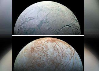 lunas de júpiter y saturno