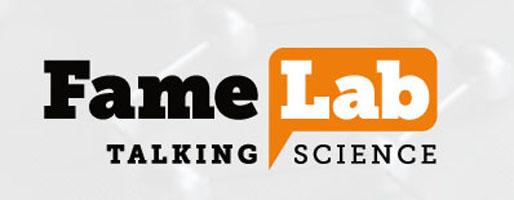 Logo del concurso FAMELAB