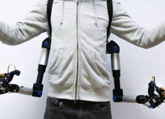 Este es el prototipo de brazos mecánicos