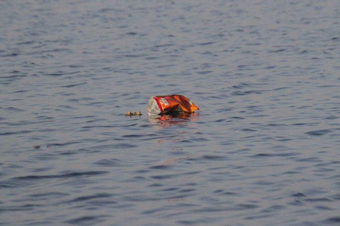 Animación diría que finalmente la basura termina en el océano Pacífico.