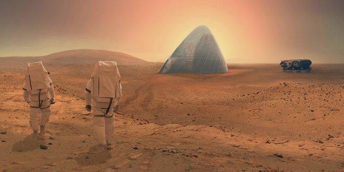 Utilización del Hormigón en Marte