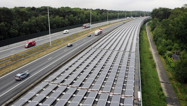 Trenes impulsados por energía solar