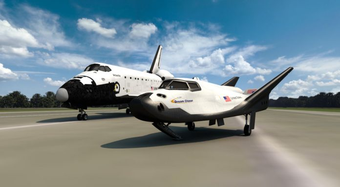 Nave Dream Chaser Cargo System