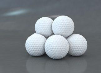 Golf. Los hoyuelos de las pelotas