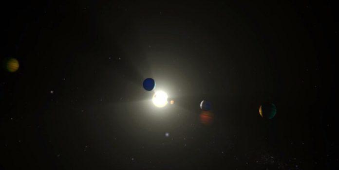 Revelan nuevo sistema solar parecido al nuestro