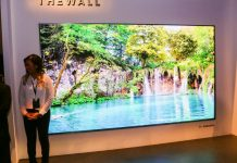 """Un televisor """"The Wall"""" de Samsung"""