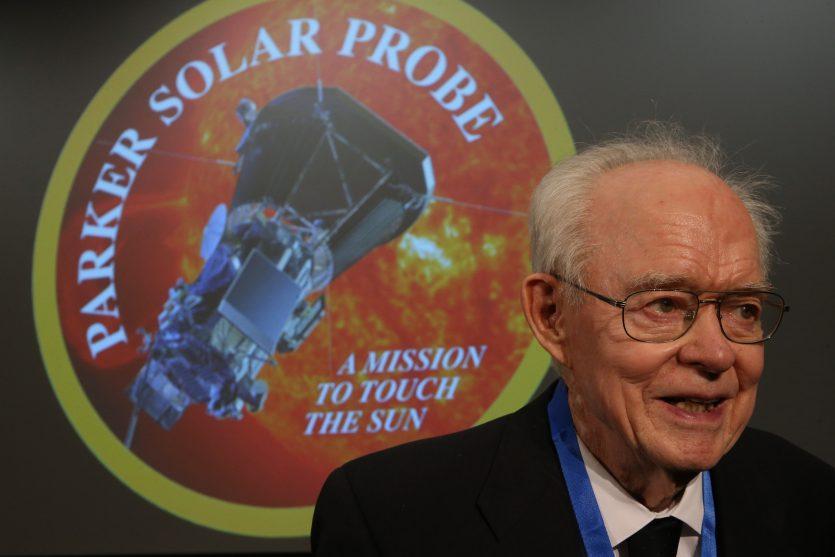 Eugene N. Parker. Astrofísico