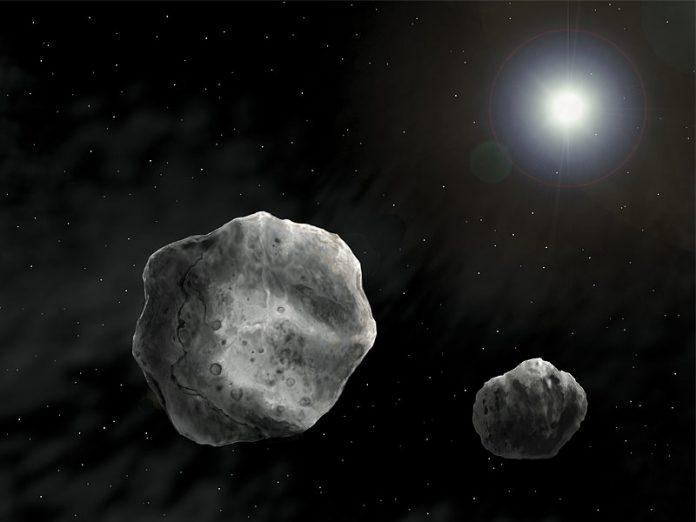 2017 YE5: nuevo asteroide binario