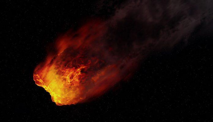 Un meteorito cae en México