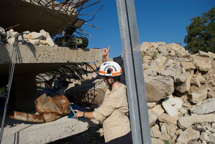 El robot centauro construido para auxiliar en catástrofes naturales