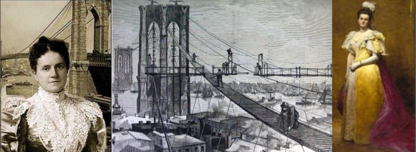 Emily Roebling y su constancia en la construcción del Puente de Brooklyn