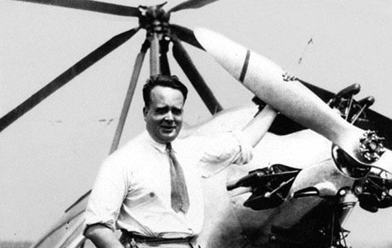 Juan de la Cierva precursor del helicóptero