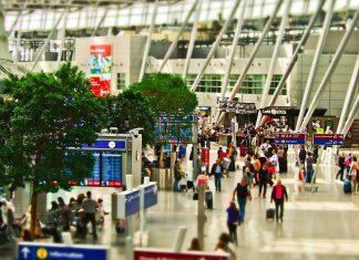 Las bandejas de los aeropuertos