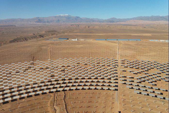 Planta Termosolar Noor Ouarzazate III