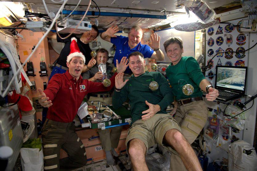 Celebran la Navidad desde el espacio. La respuesta nos la dio la mismísima NASA