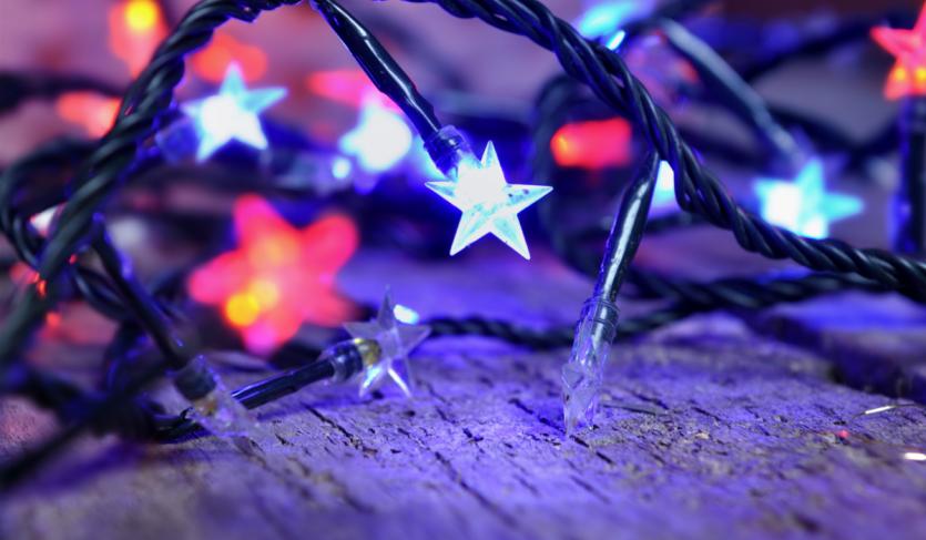 Las luces Led brindan variabilidad en colores y efectos