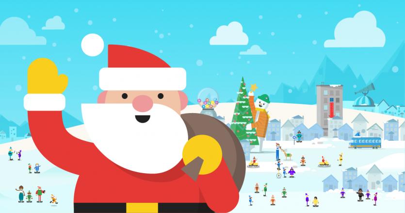 Los usuarios pueden descargar el app Google Santa Tracker para Android de la tienda Google Play