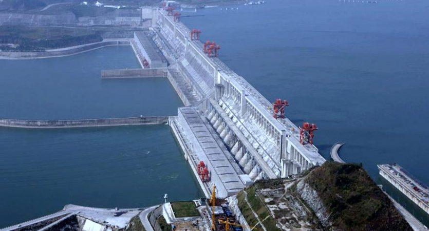 La presa de las Tres Gargantas es una represa hidroeléctrica