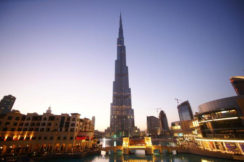 La construcción del Burj Khalifa comenzó en 2004
