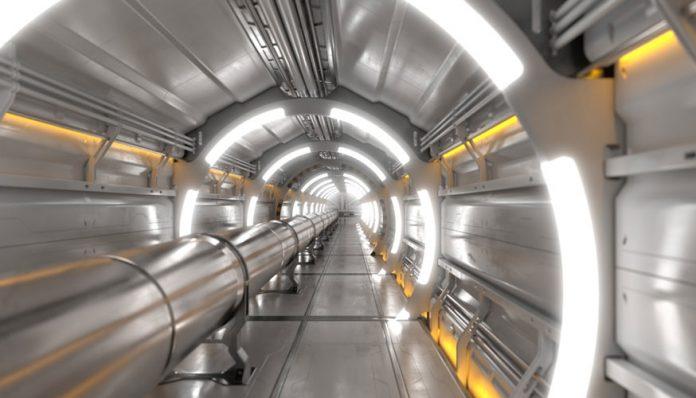Un acelerador de partículas enorme