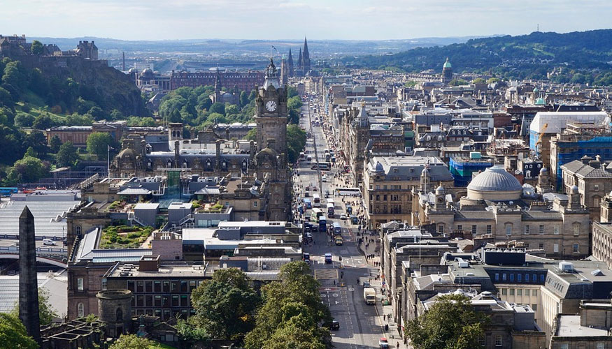 Edimburgo ciudades sostenibles
