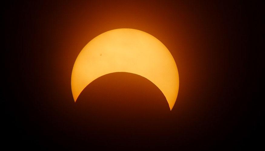 dónde ver el eclipse solar