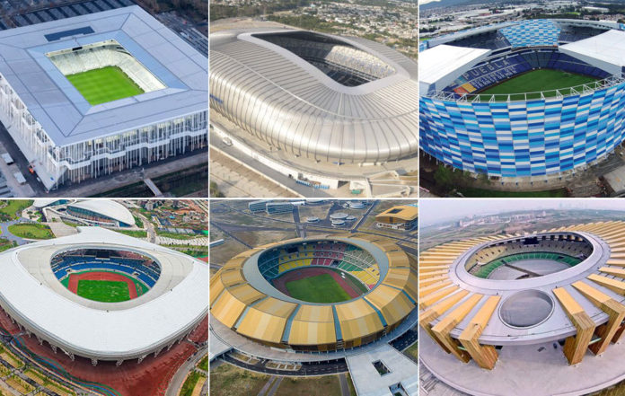 Estadios modernos