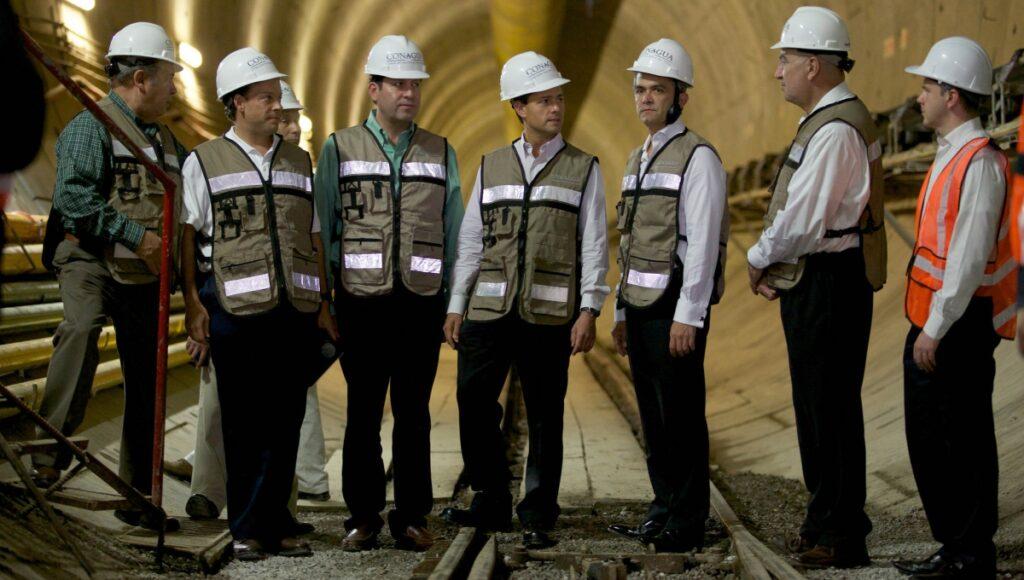 grandes obras de ingeniería hidráulica - Túnel de méxico