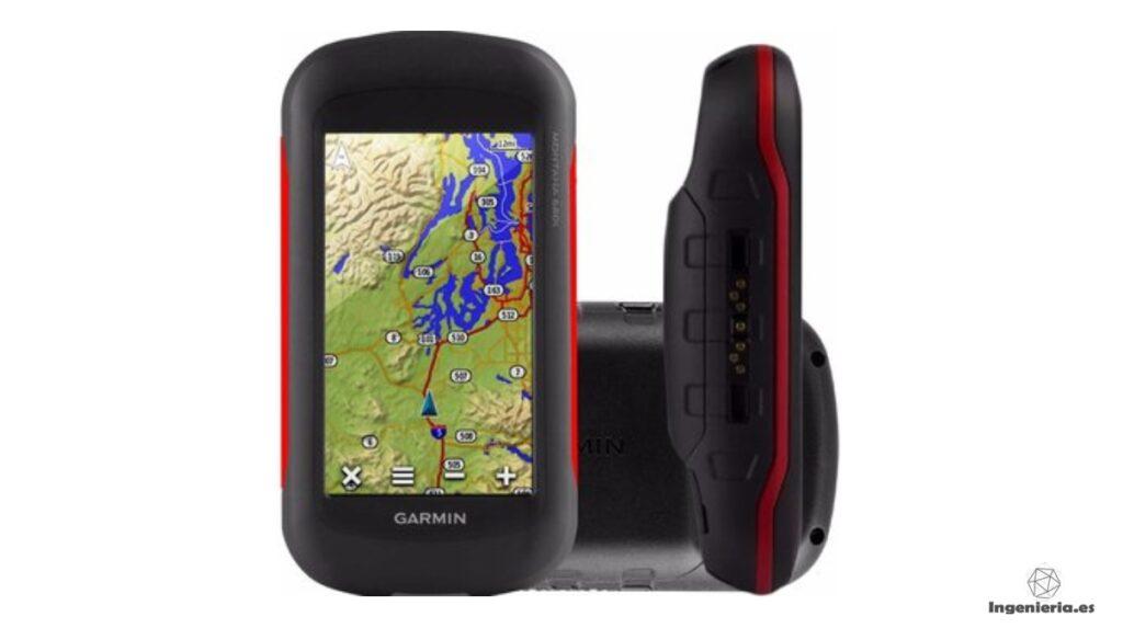 GPS Montana Garmin - Herramientas para estudiantes de ingeniería
