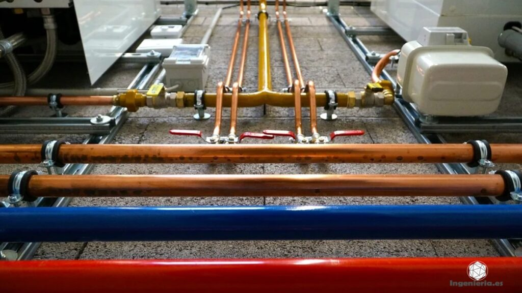 componentes de un sistema de calefacción central