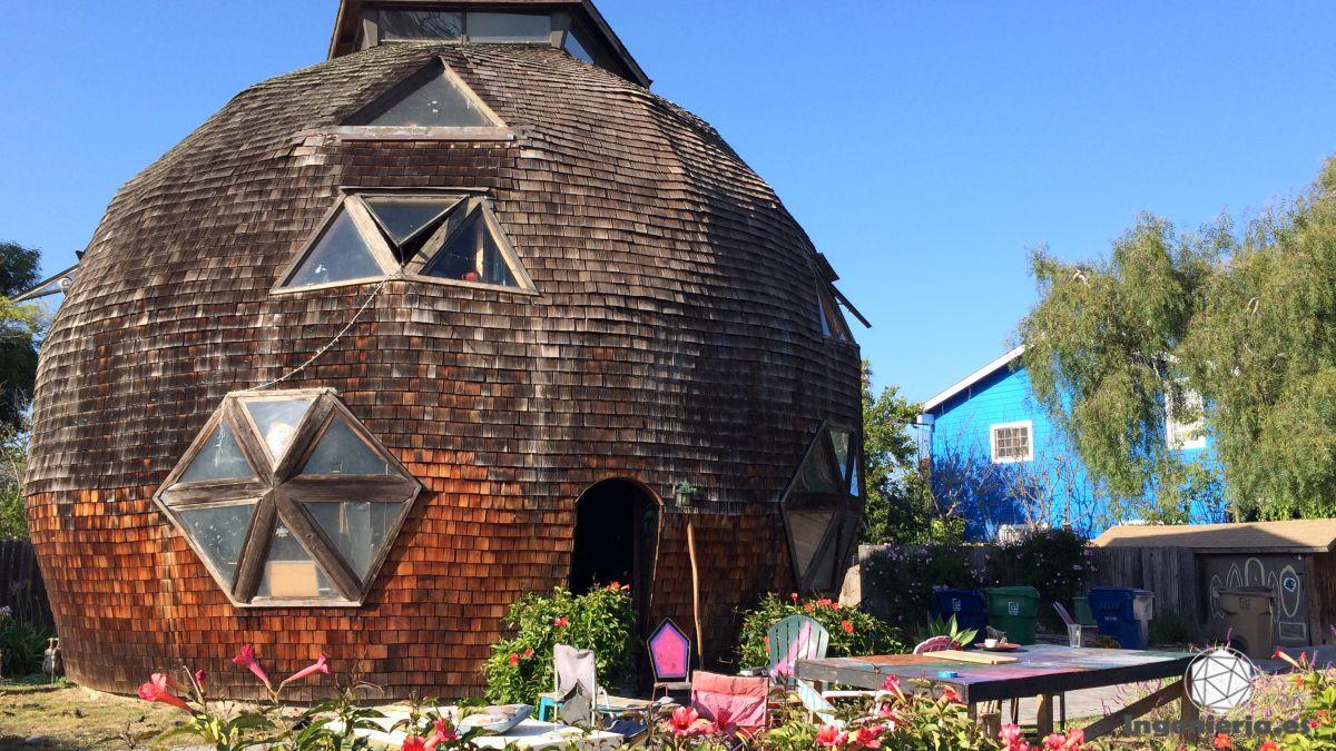 Casa domo geodésica arquitectura vanguardista