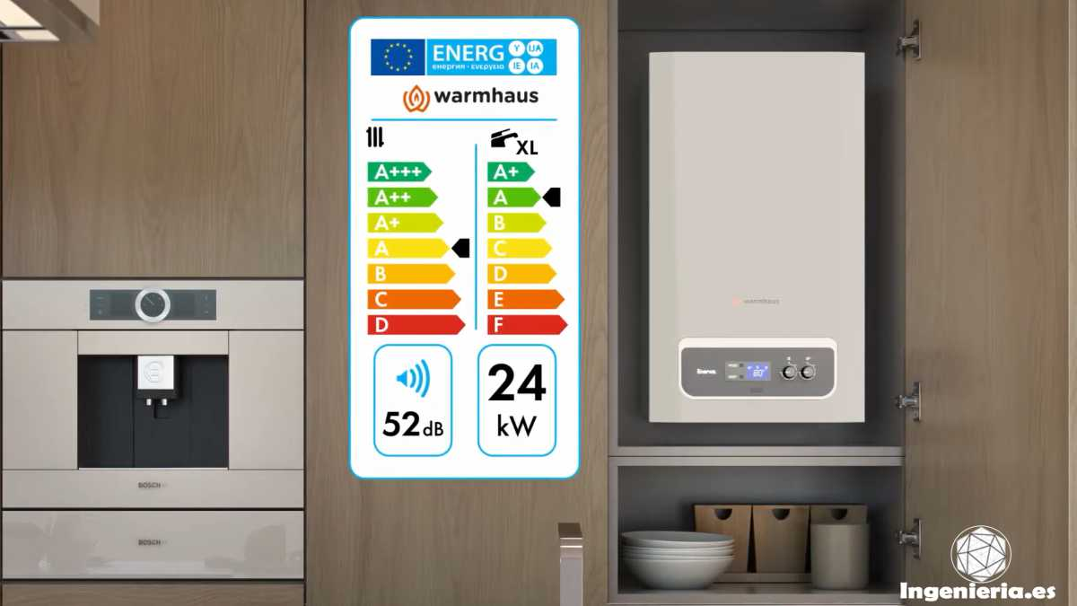 caldearas de gas eficientes energéticamente hablando