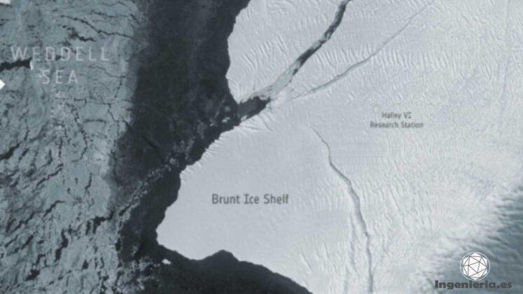 iceberg a 74 después